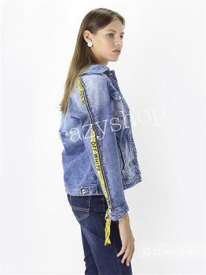 Куртка джинсовая OFF WHITE, размеры XS-XXL