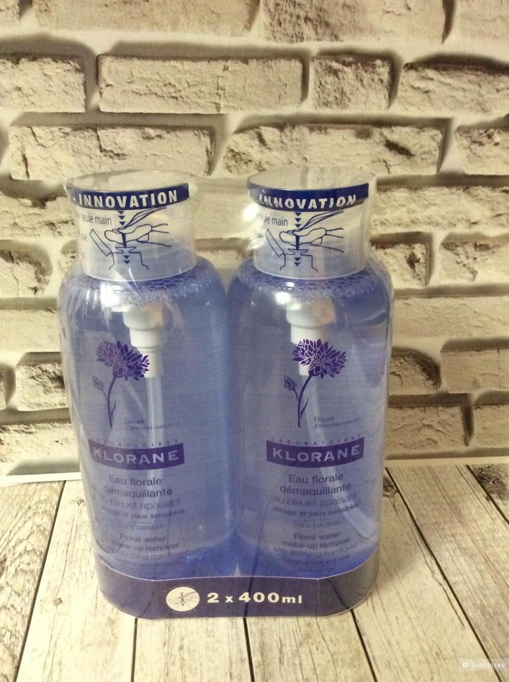 Очищающая вода Klorane, 400 ml.