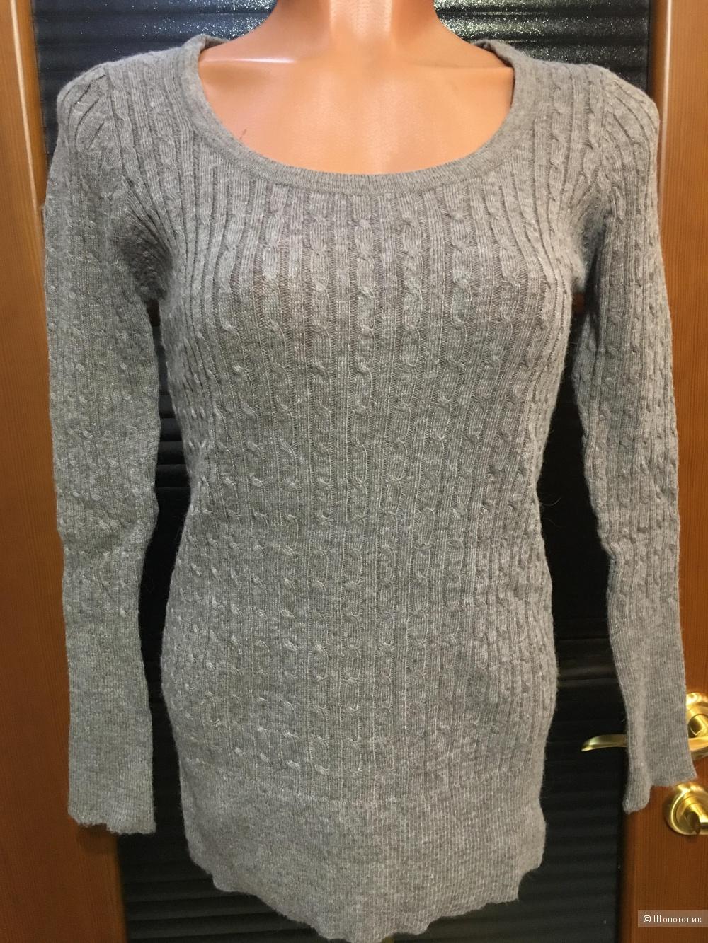 Свитер с косами Zara Basic, размер единый, на рос. 40-46
