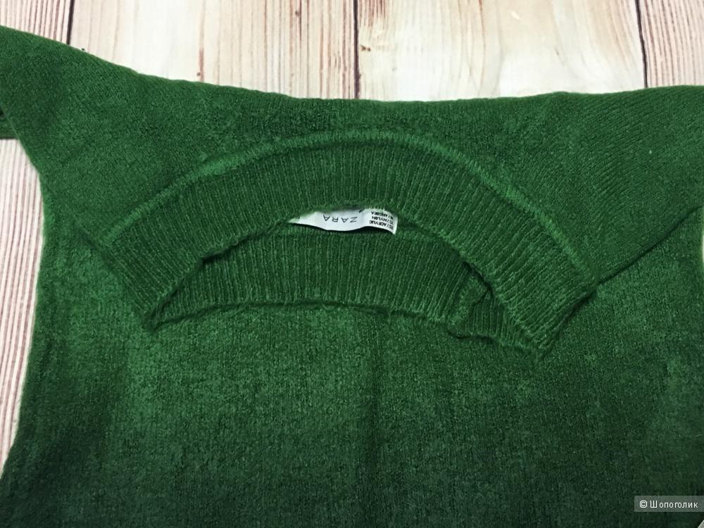 Свитер с градиентом Zara, размер единый, на рос. 40-44