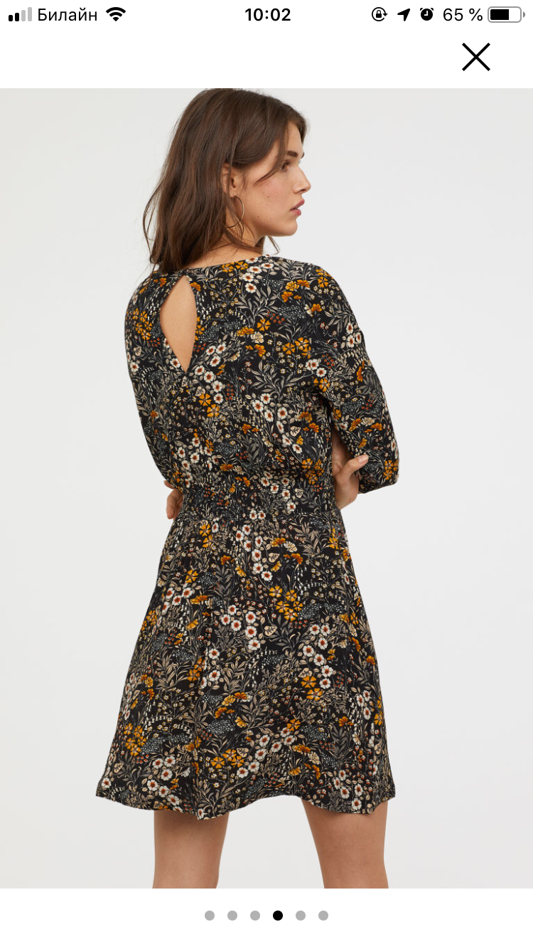 Платье H&M размер 42-44