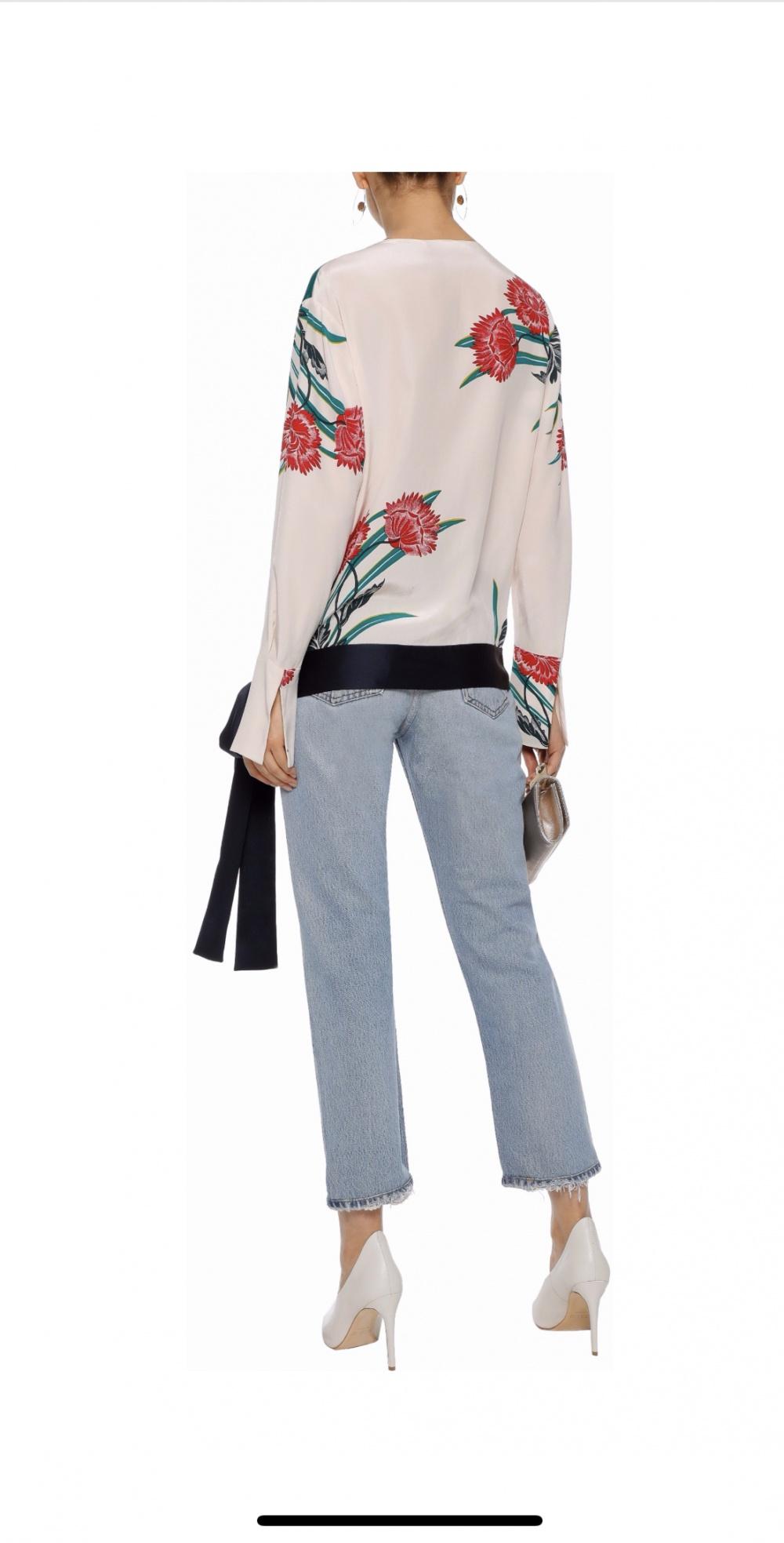 Блуза Diane Von Furstenberg размер S