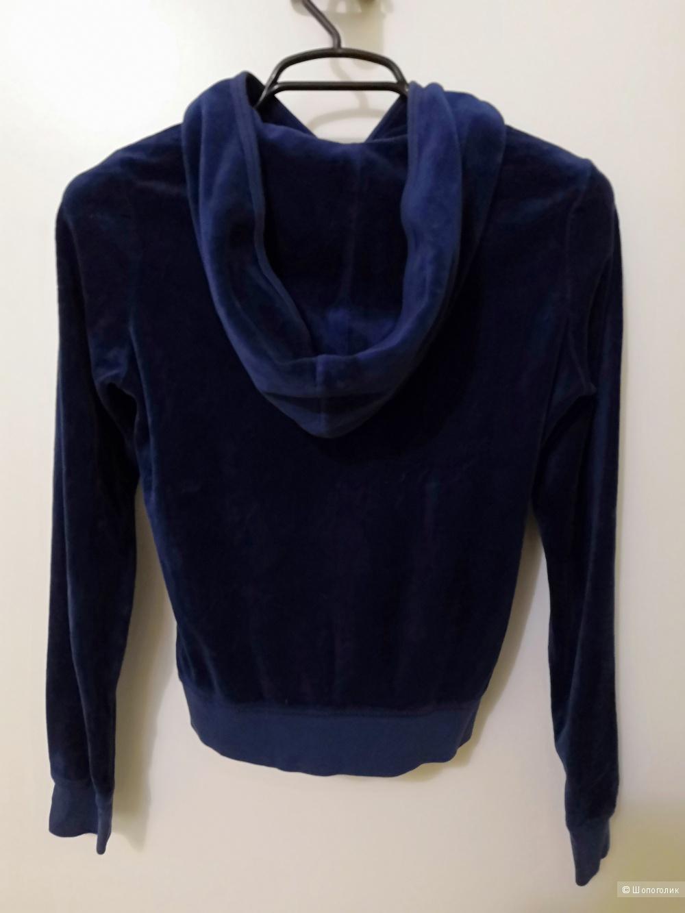 Велюровая кофточка Juicy couture, размер М