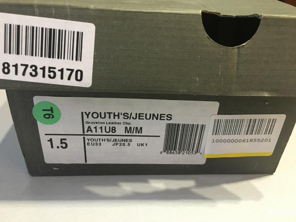 Демисезонные ботинки TIMBERLAND, размер 33.