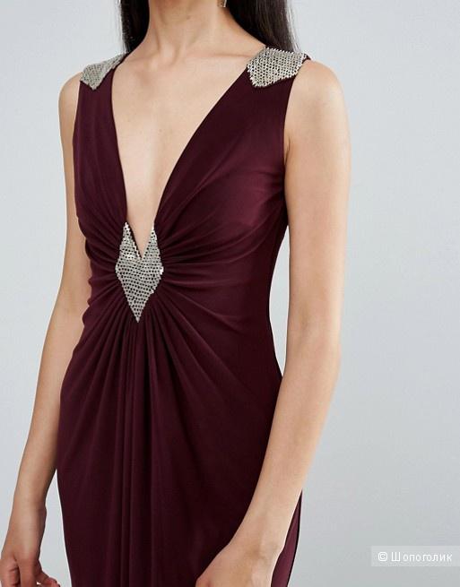 Платье макси, TFNC, размер S