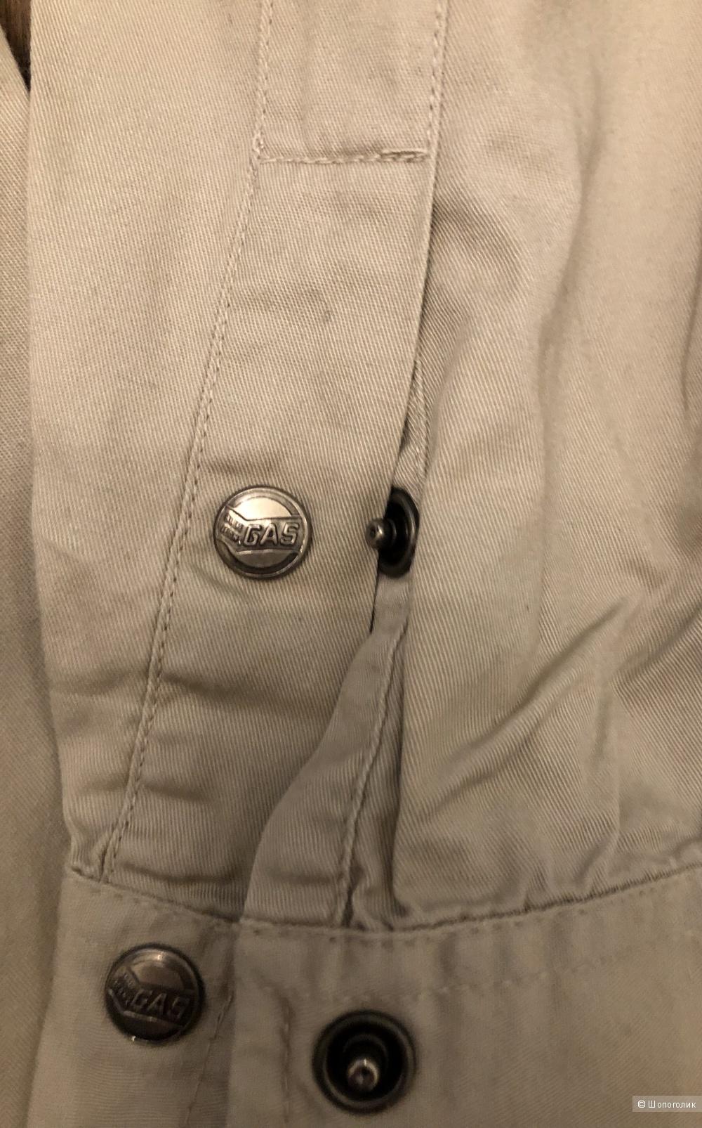 Рубашка бренда GAS маркировка S( на 44-46 )