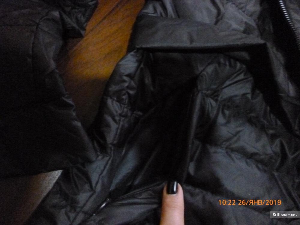 Длинный пуховик Zara, р-р М (44-46)