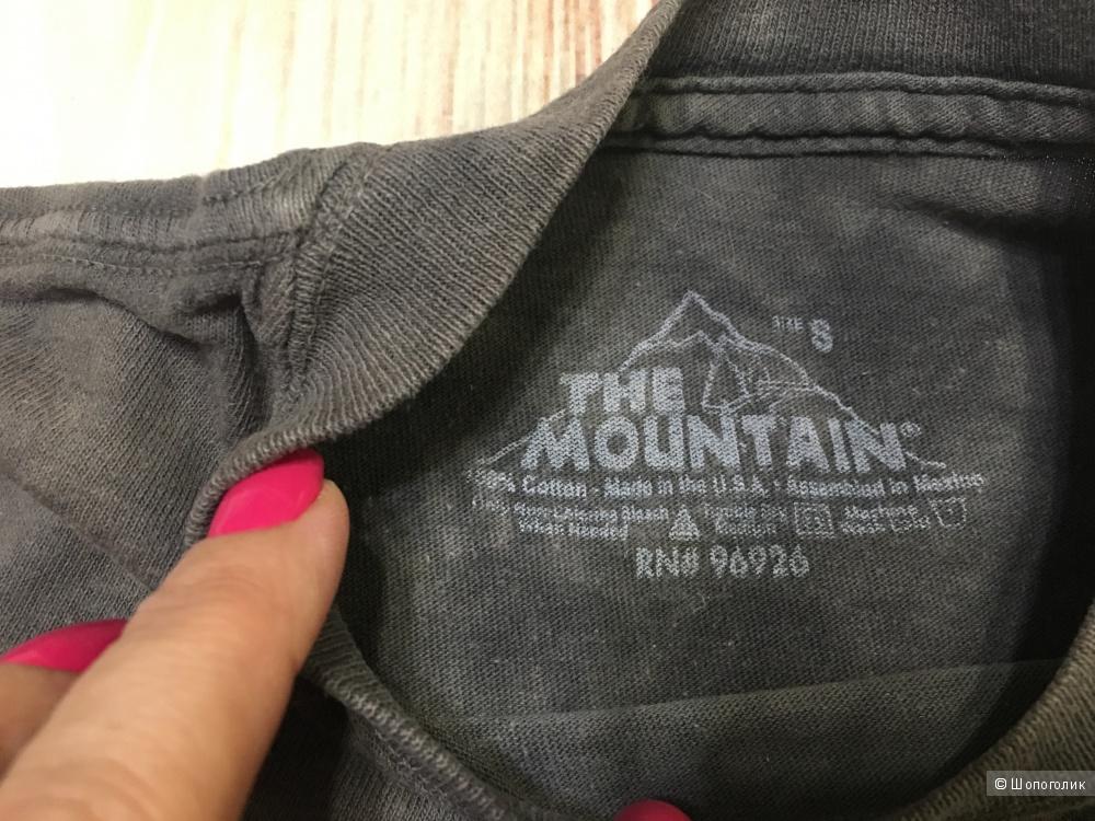 Детская футболка THE MOUNTAIN FURRY FACE, размер S, на 5-7 лет.