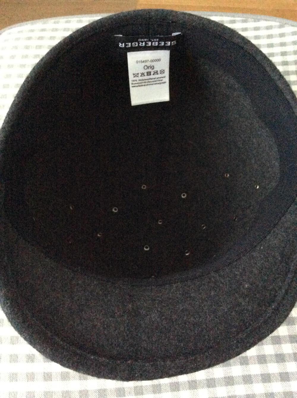 Фетровая шляпа-бейсболка Seeberger
