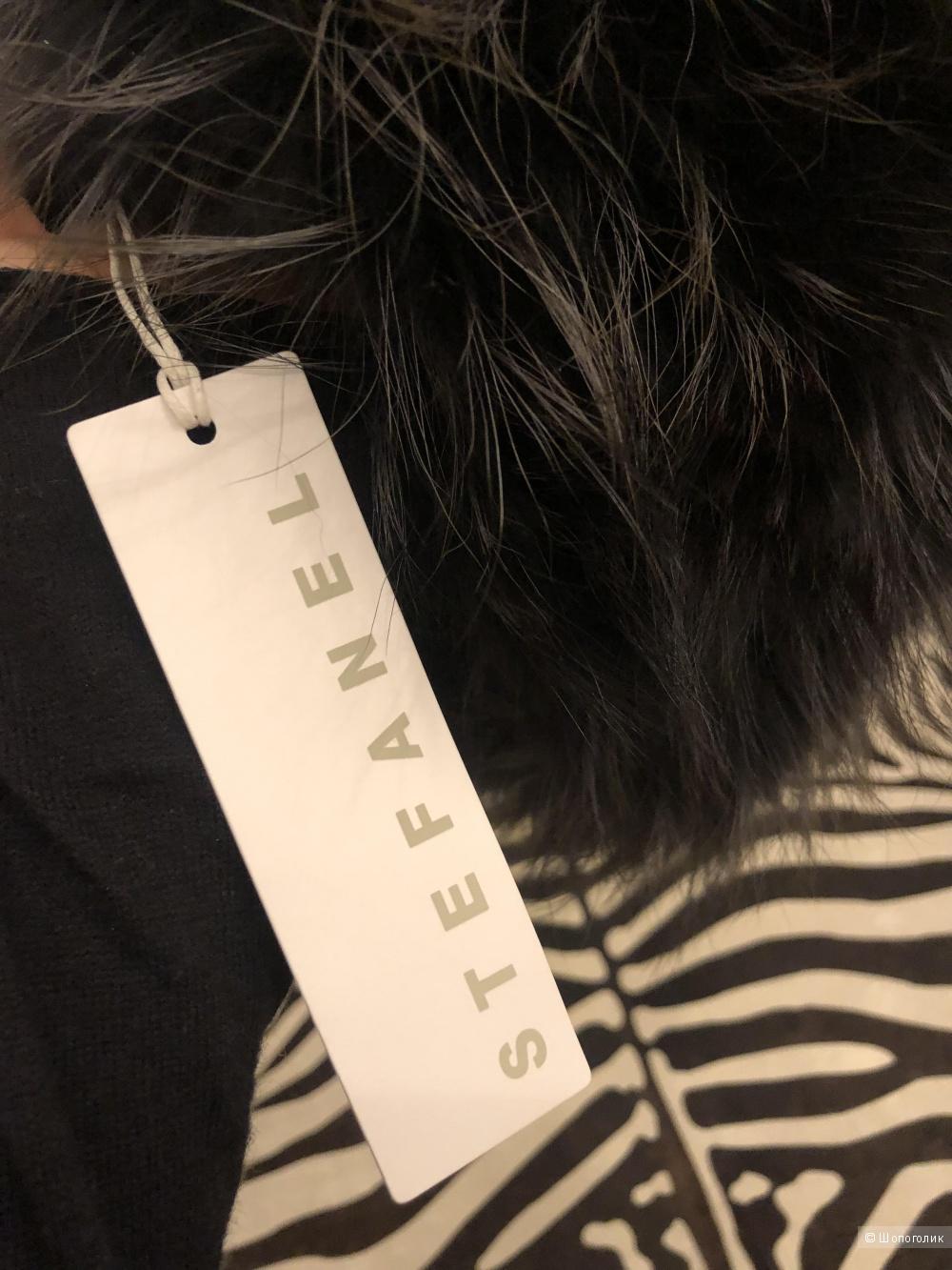 Stefanel Меховая шапка