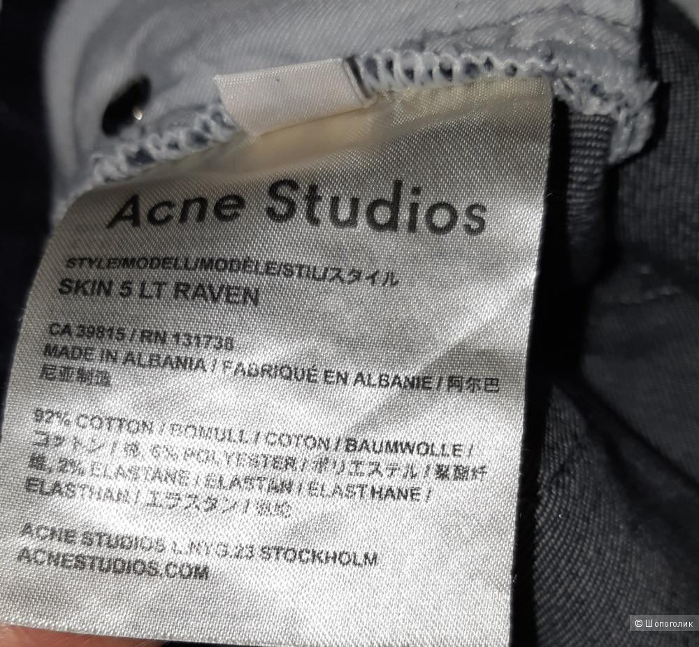 Джинсы acne studios, размер 29/32