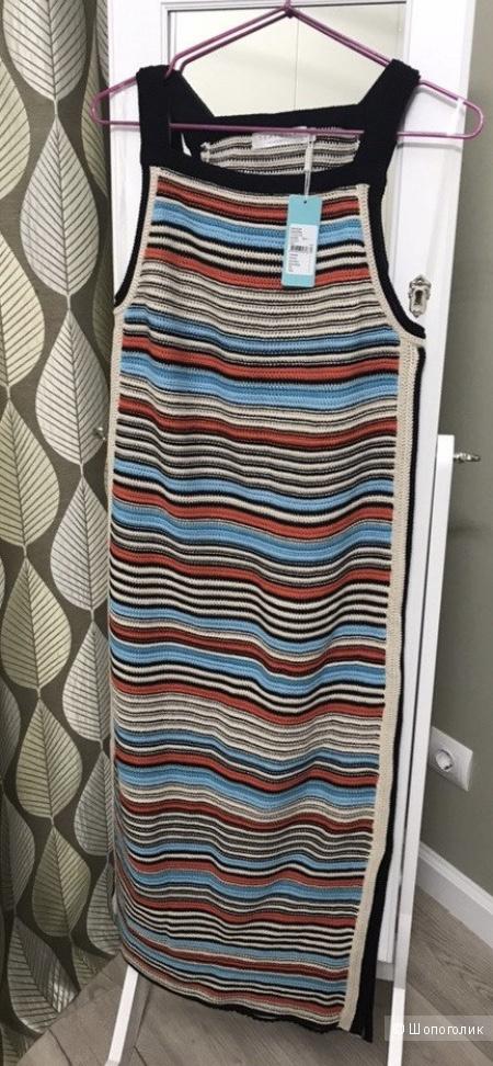 Платье кроше в полоску Seafolly