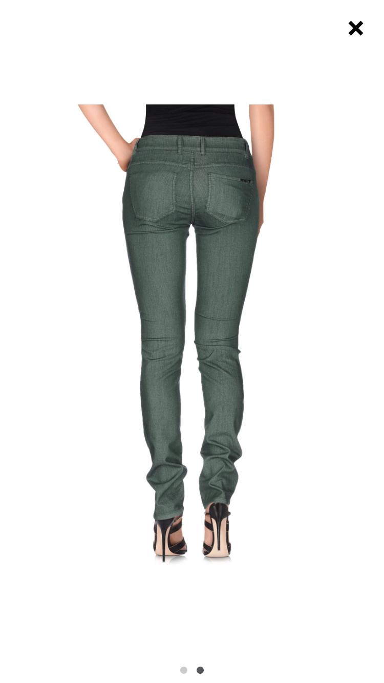 Двухсторонние джинсы МЕТ, размер 27.