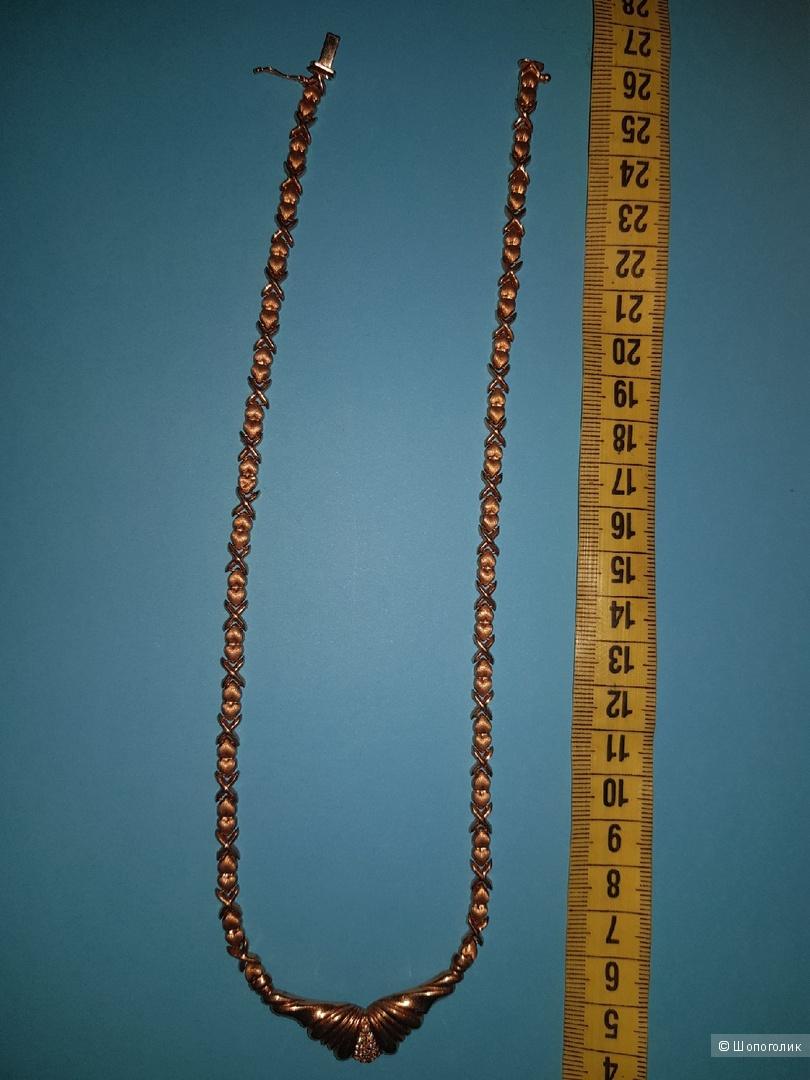 Колье золото, проба 585, 45 см
