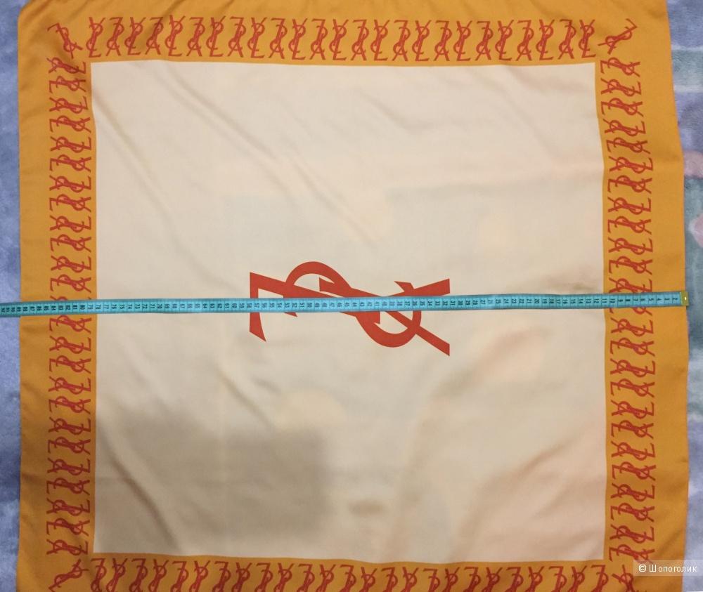 Платок Ив Сен-Лоран 88 х 88 см