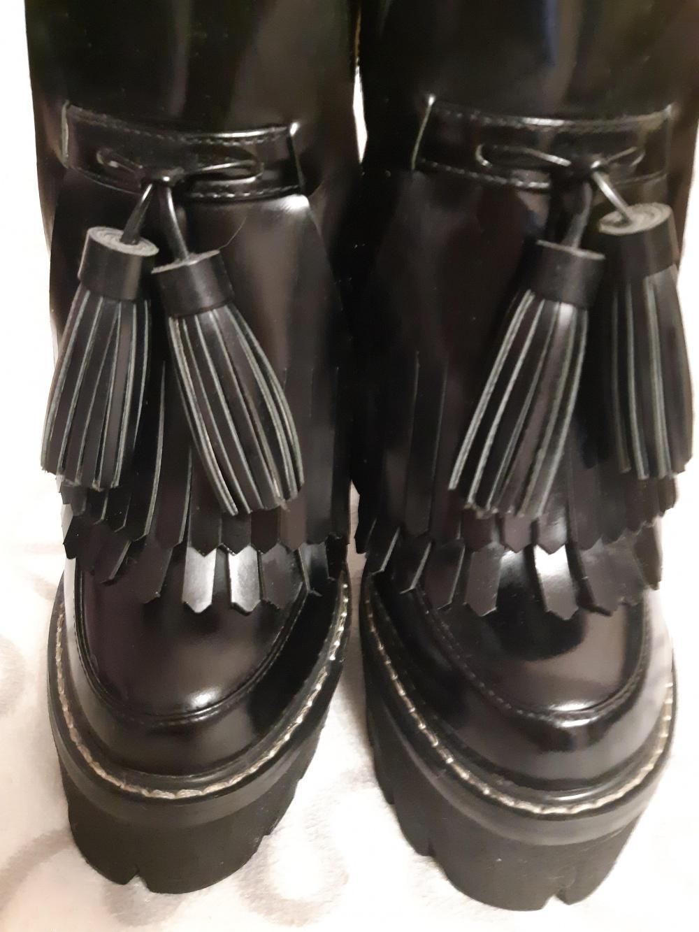 Ботинки jeffrey campbell 37 размер.