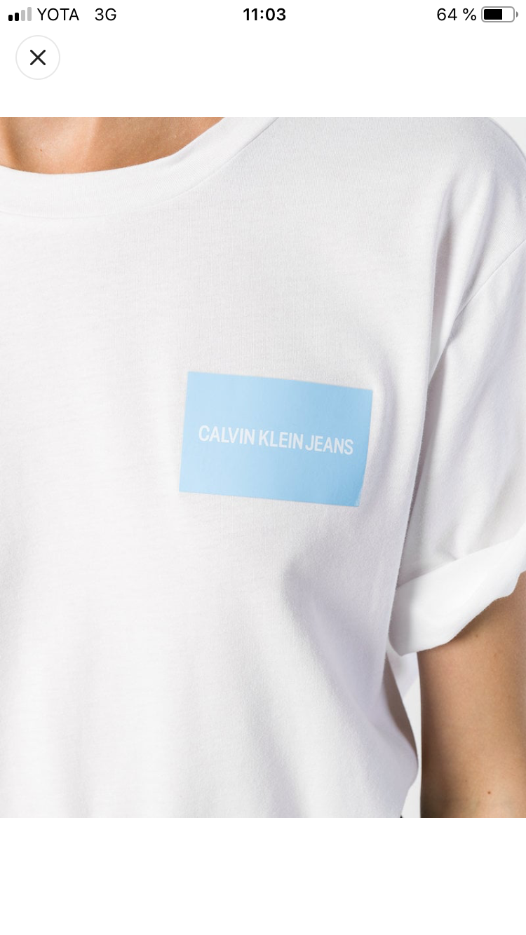 Футболка Calvin Klein S