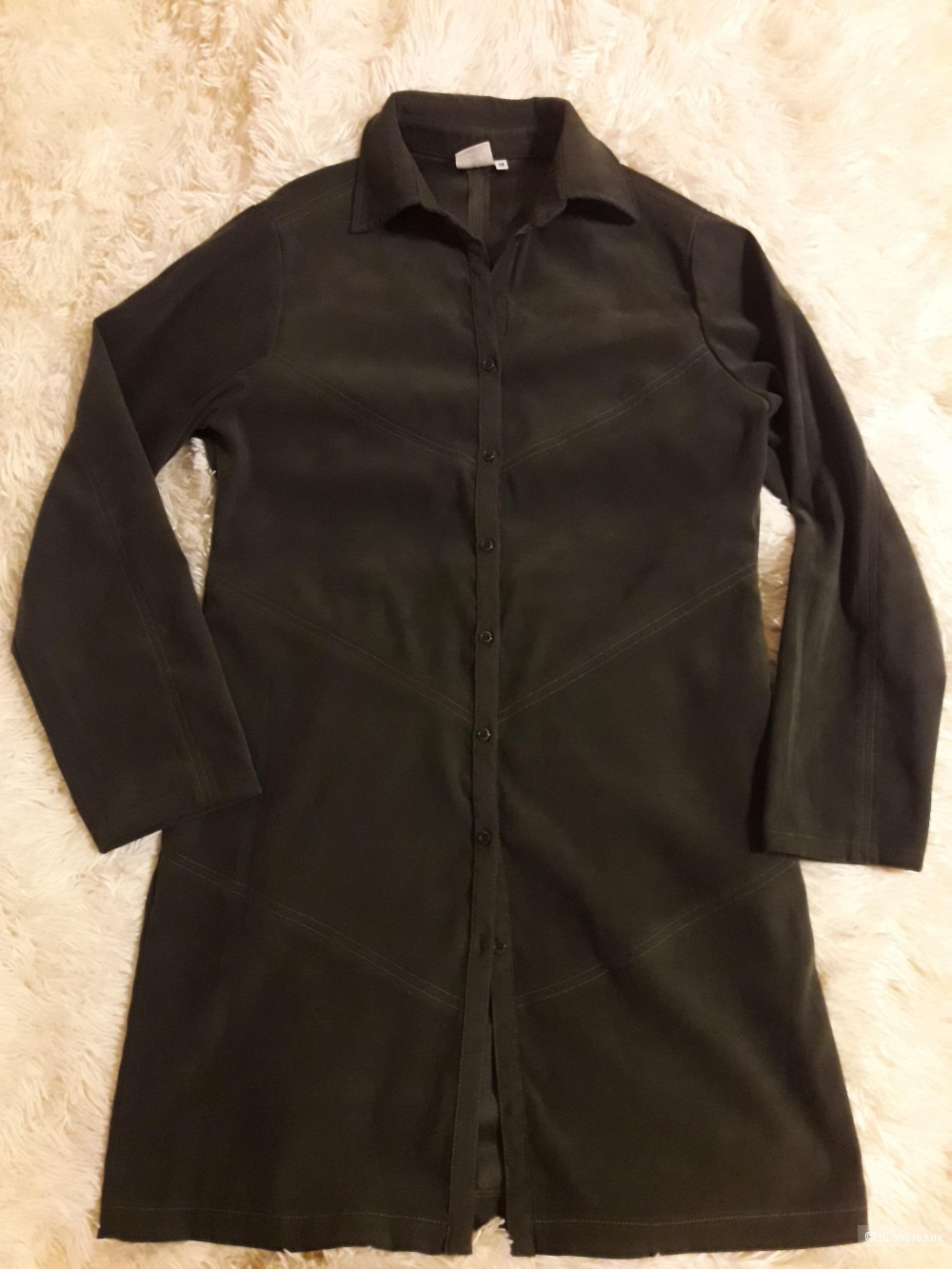 Комплект платье и рубашка, размер 42-44