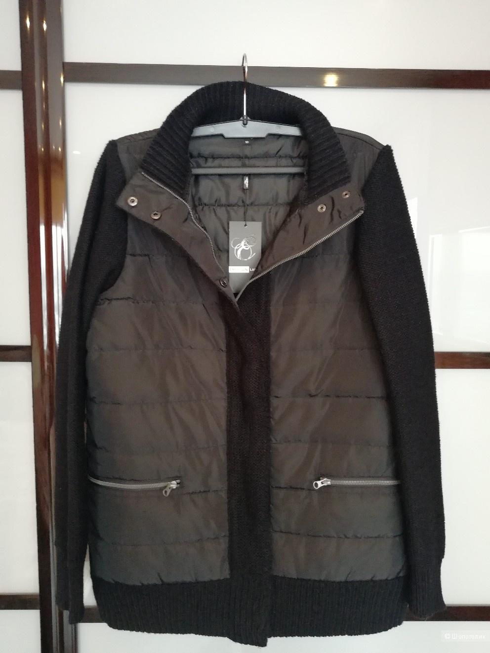 Утепленная куртка размер 50