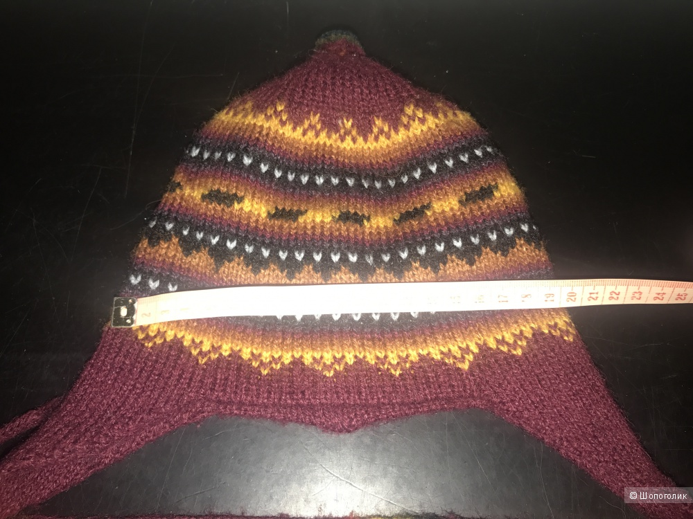 Сет шапка+шарф no name на 6-18 месяцев.
