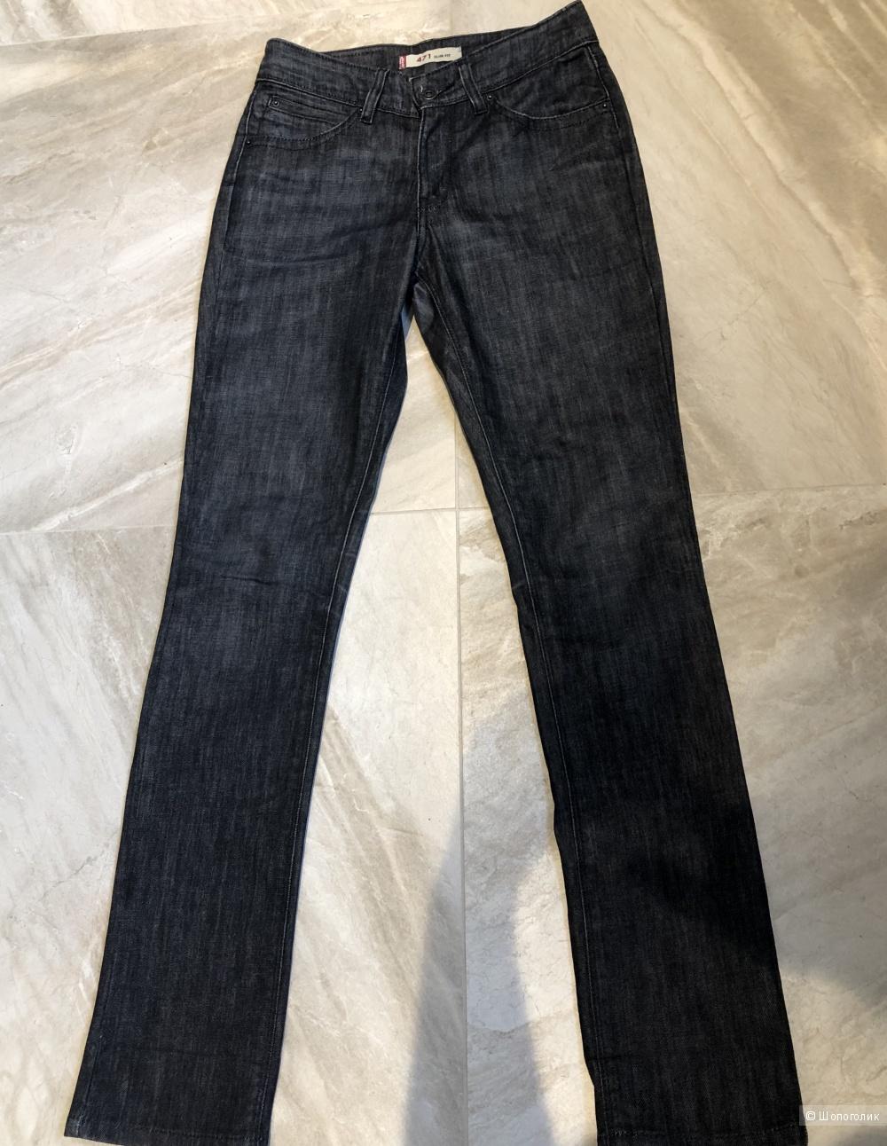 Джинсовые брюки Levis, размер 28\32