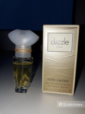 Миниатюра парфюмерной воды Dazzle (Dazzling) gold Estee Lauder 5ml