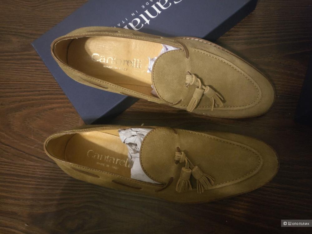 Туфли лоферы Cantarelli размер 42 EUR.