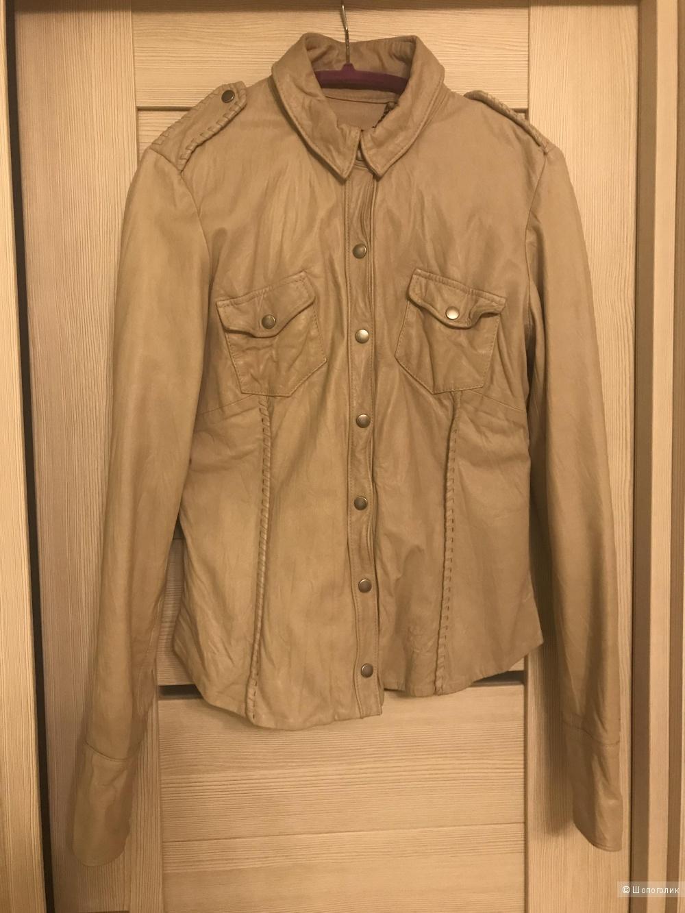 Куртка рубашка кожаная Muubaa, 40-42 размер