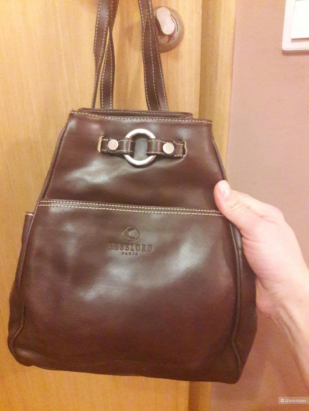 Кожаный рюкзак Kesslord