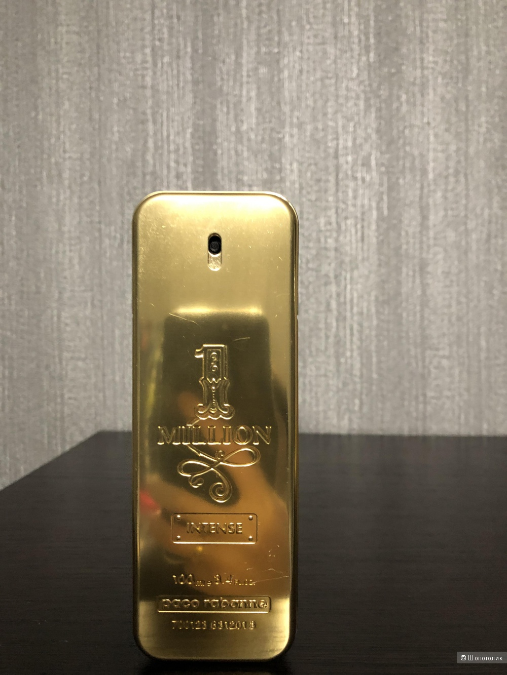 Туалетная вода Paco Rabanne one million intense