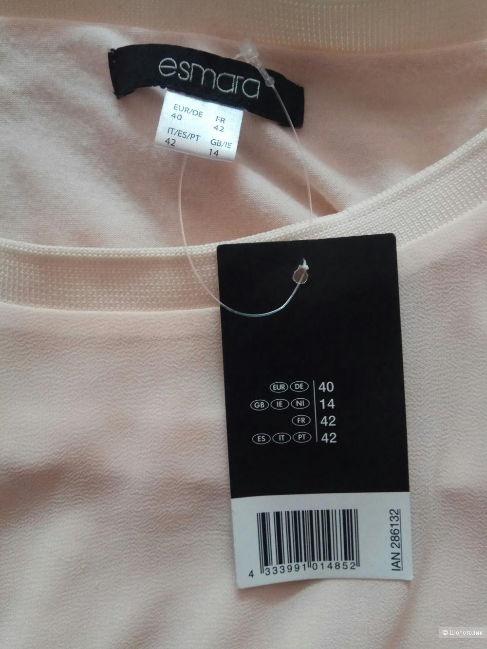 Удлиненная блуза туника Esmara размер M