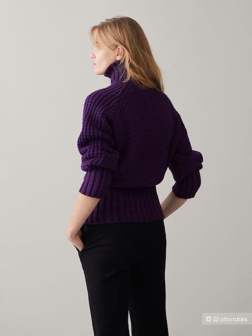 Шерстяной свитер Massimo dutti S