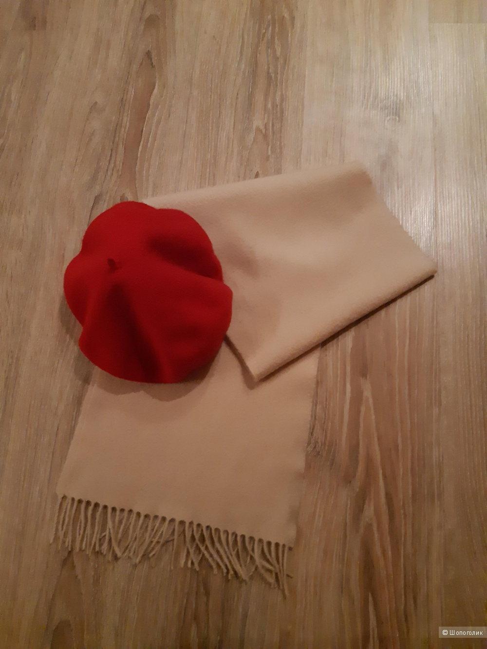 Кашемировый шарф st.michael, размер 29*155