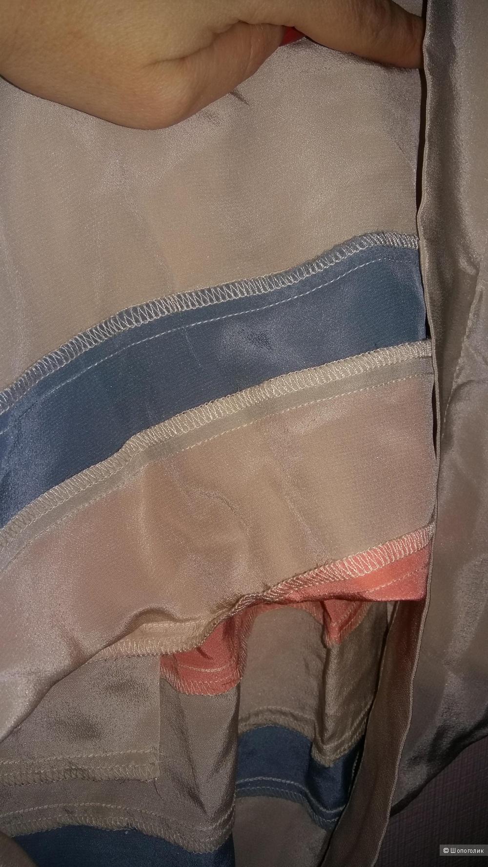 Шелковое платье AKIKO (США), размер S