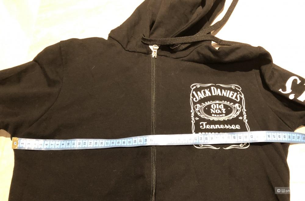 Толстовка Jack Daniels   размер 44-46
