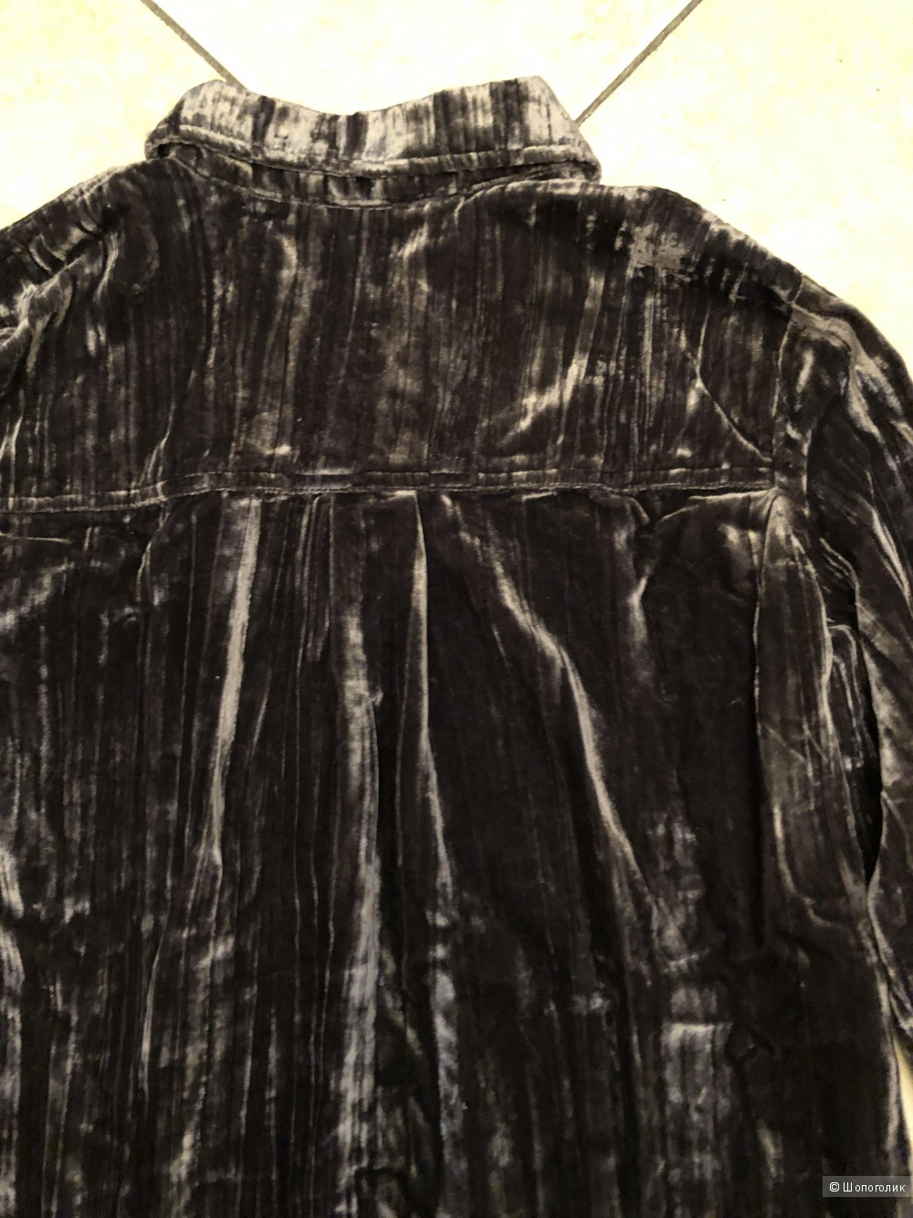 Бархатная рубашка Splendid, размер L
