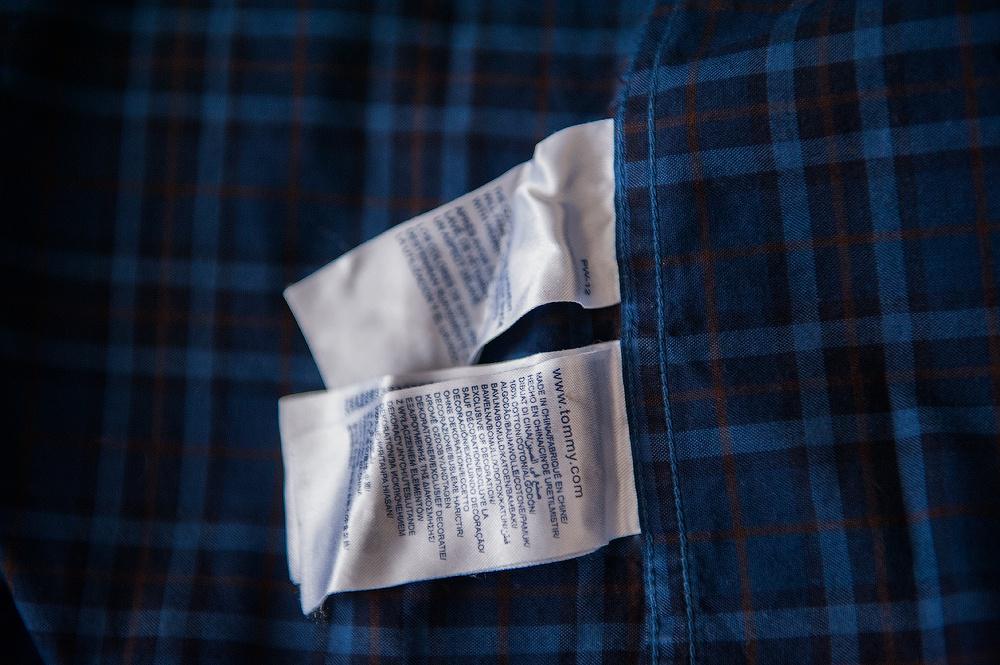 Мужская рубашка Tommy Hilfiger р.М