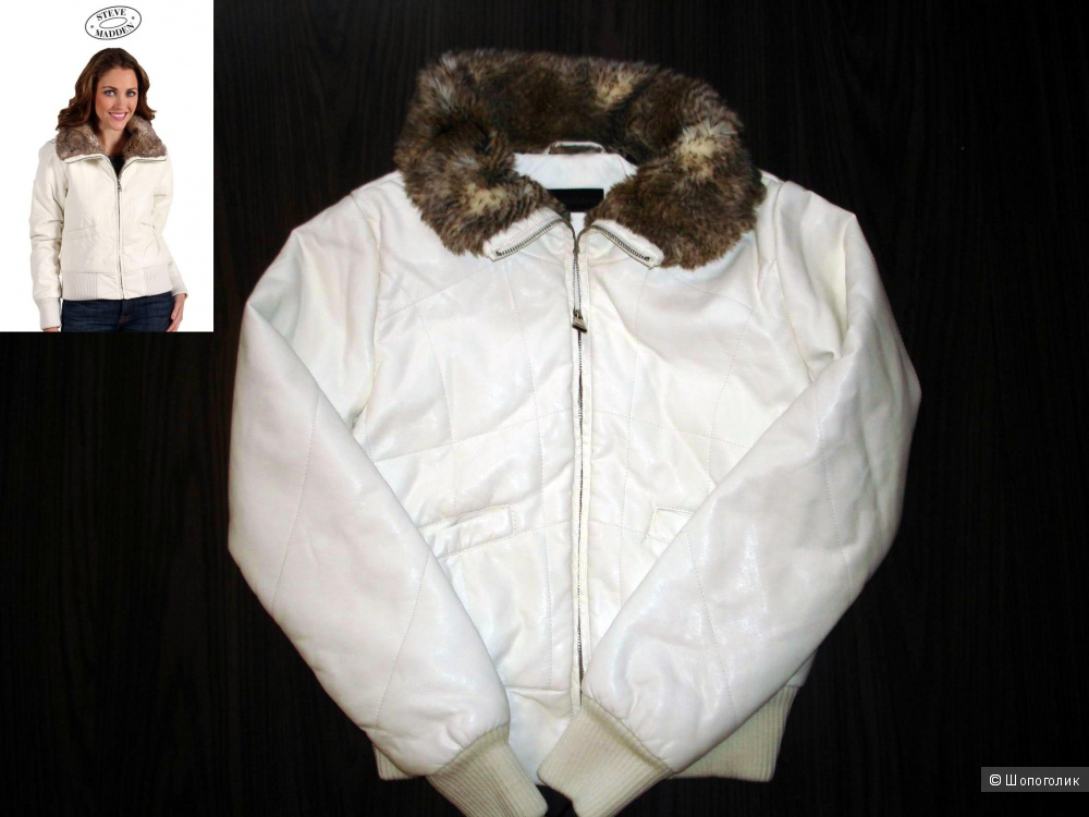 Куртка кожаная Steve Madden  S 42- 44