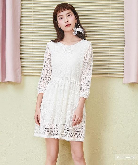 Кружевное платье Semir, на рост до 164 см (S размер)