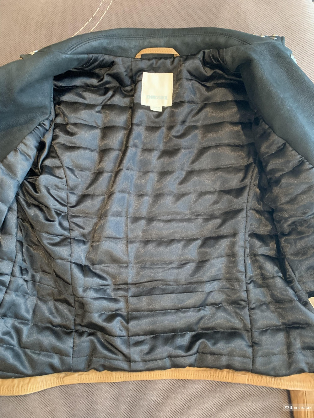 Куртка кожаная Diesel 16 лет