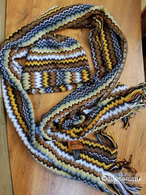 Комплект шапка+шарф, Missoni