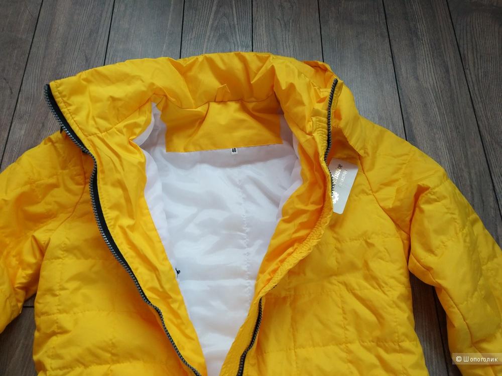 Пальто стеганое, размер 48-50-52