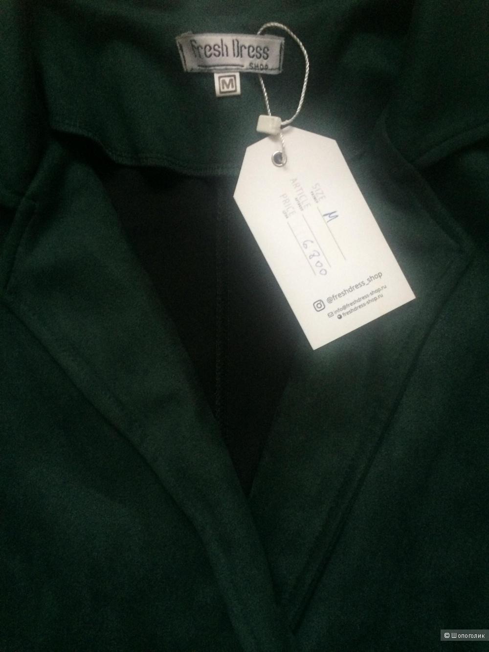 Замшевый комбинезон Fresh Dress Shop, М, на 44, 46 размеры