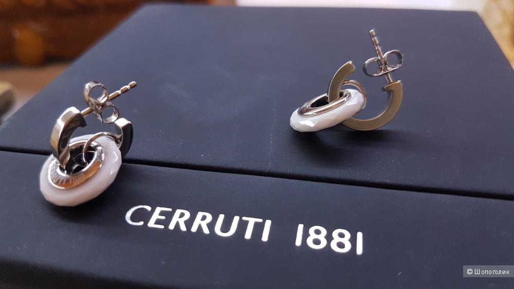 Серьги CERRUTI 1881