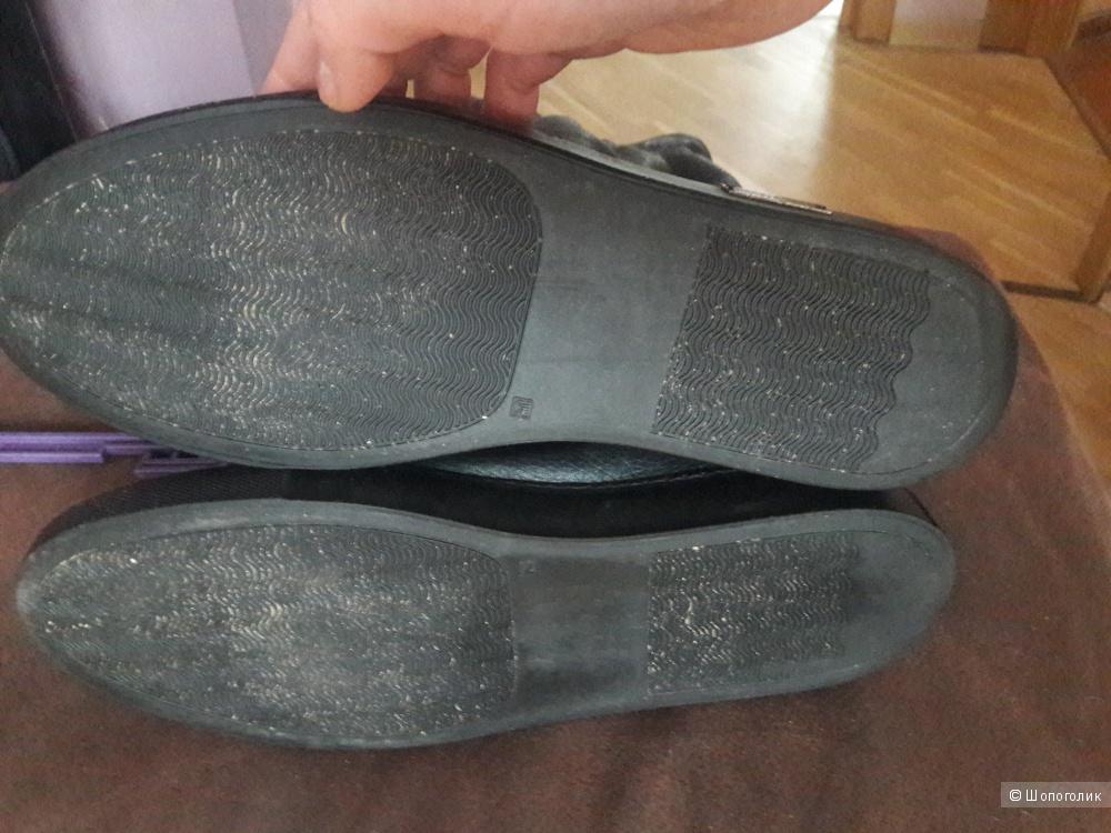 Кожаные сапоги Dario Chiotti 41 размера
