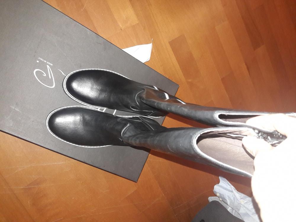 Кожаные сапоги Ilenia P 40 размера