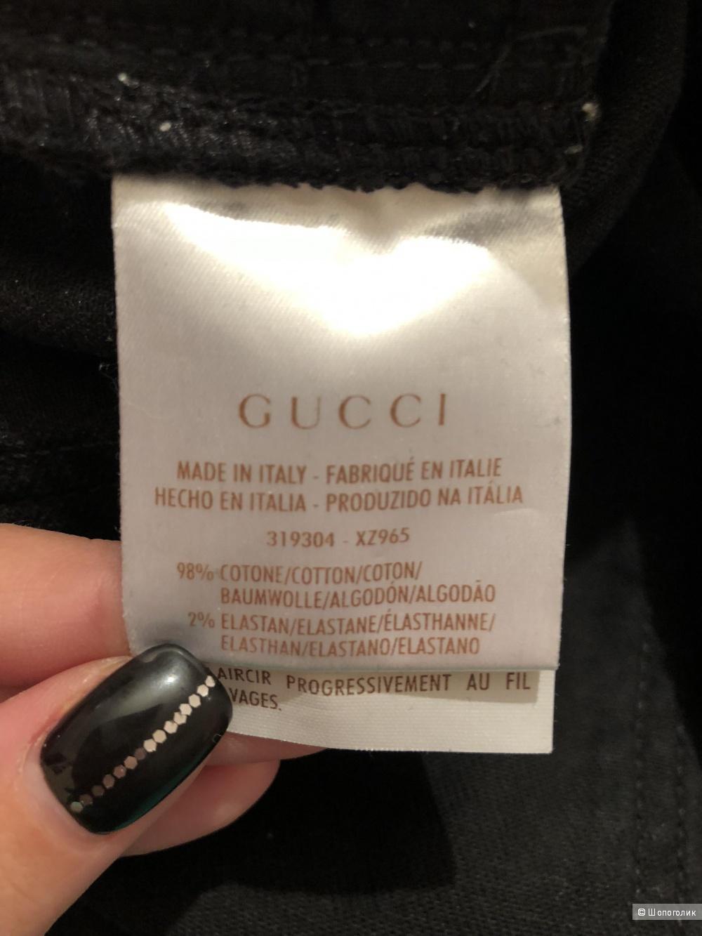 Джинсы Gucci, размер 44 (46)