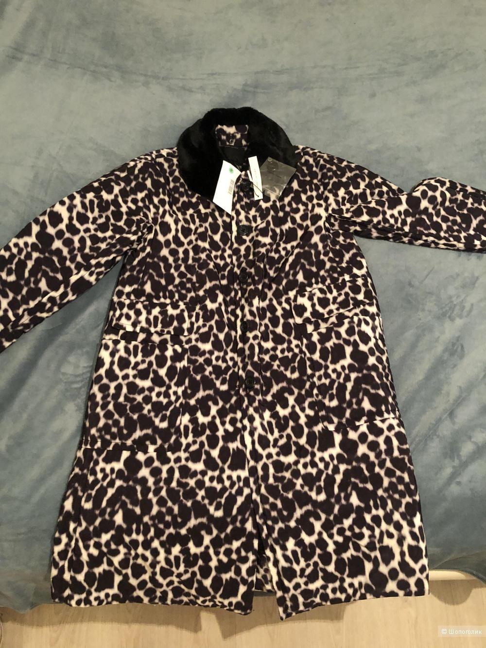 Пальто-пуховик Marc Jacobs, размер 6 US, подойдёт на 46-48-50 российский