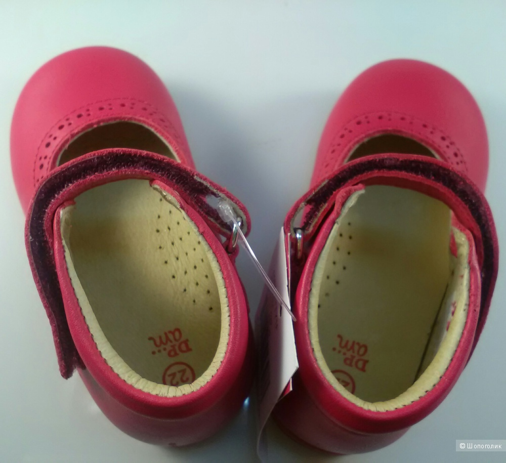 Туфли для девочки. Dpam 22 размер