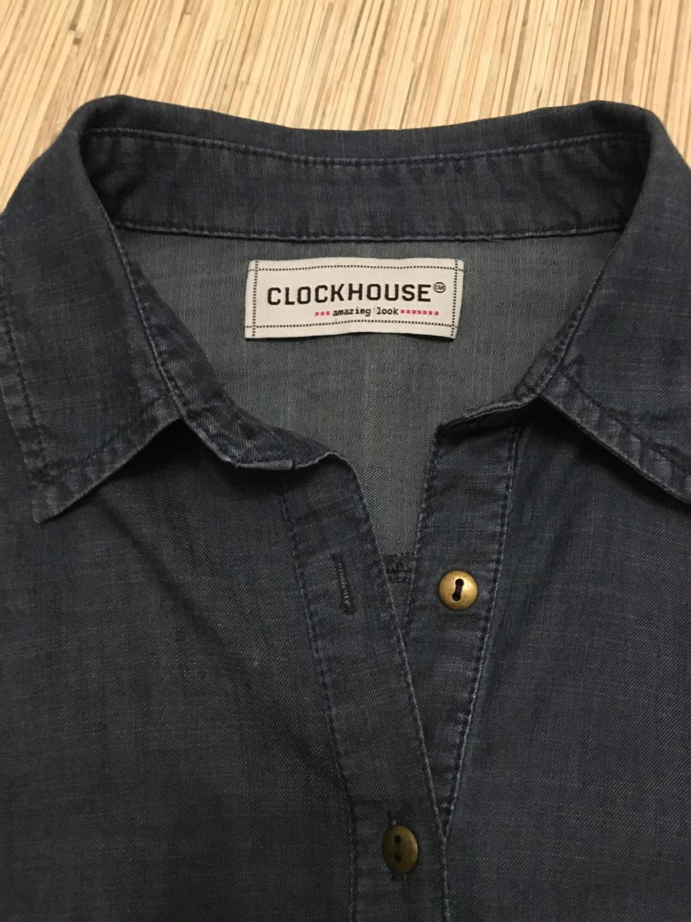 Комплект рубашка Clockhouse, размер М+юбка Moods of Norway, размер S/